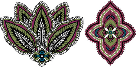 indian paisley design