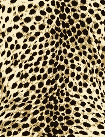 Ilustración de african animal fur pattern design - Imagen libre de derechos