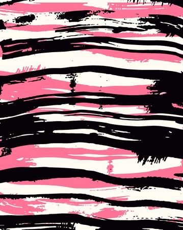 brush border pink ink background