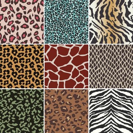 Ilustración de seamless animal skin swatch - Imagen libre de derechos