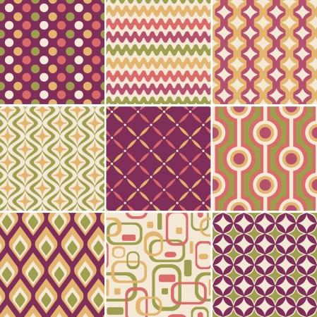 Foto de retro seamless pattern  - Imagen libre de derechos