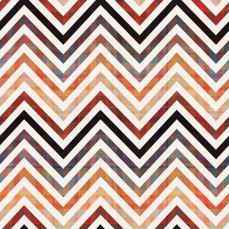 Plaid Chevron Pattern