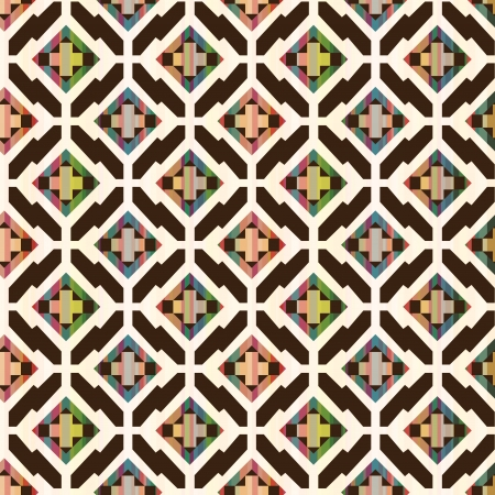 Earthy Abstract Geometric Pattern