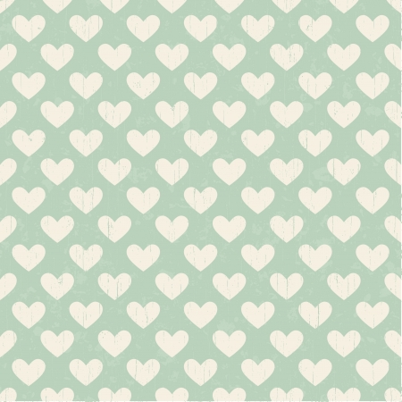 seamless heart texture pattern