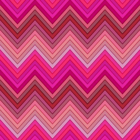 seamless pink, fuchsia and red colors horizontal fashion chevron pattern