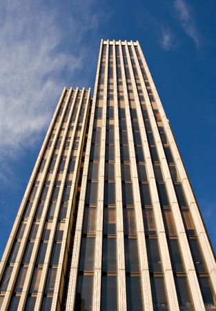 Photo for Business Towers in down town Madrid - Royalty Free Image