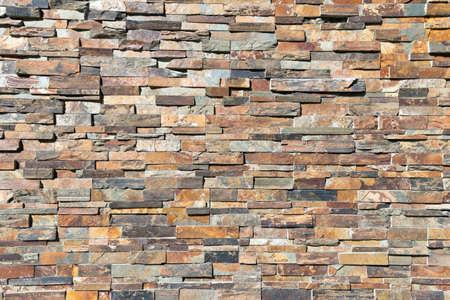 Foto de Decor natural stone wall textere - Imagen libre de derechos