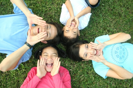 Photo for Happy asian family - Royalty Free Image