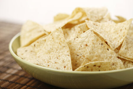 A Bowl of corn chips