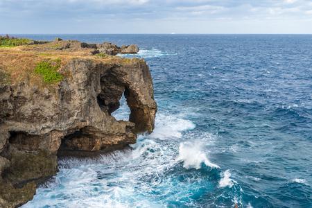 Foto für Manzamo Cape in Okinawa, Japan - Lizenzfreies Bild