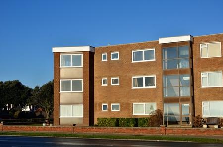 Photo for Seaside retirement flats Uk - Royalty Free Image