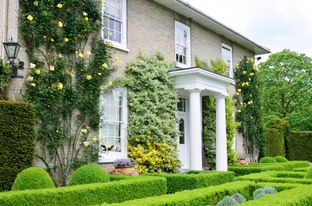 Photo for Traditional victorian english country house - Royalty Free Image