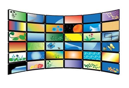 3D  color tv monitors