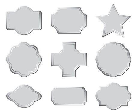 set of the gray frames