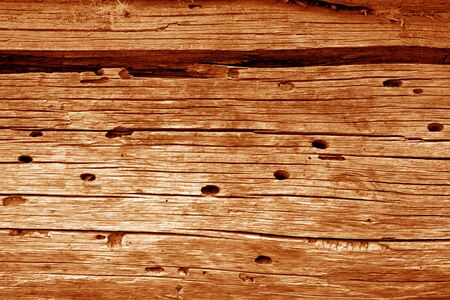Photo pour Wooden wall texture in orange color. Abstract background and texture for design. - image libre de droit