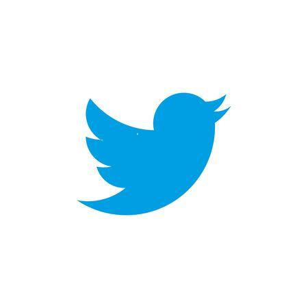 Illustration pour Vector illustration, flat design Social networks, twitter icon - image libre de droit