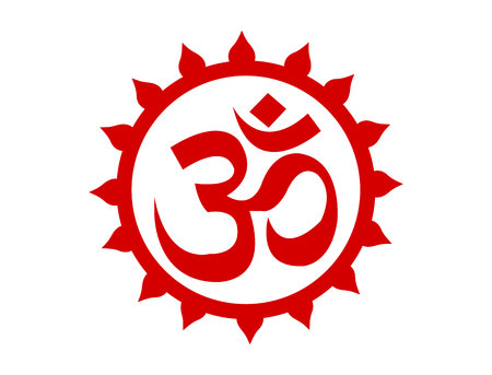 Photo for Supreme om symbol isolated on white background - Royalty Free Image