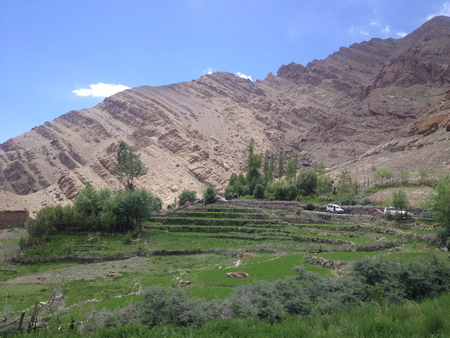 Landscape view from Hemis Monastery, Leh, Ladakh, India