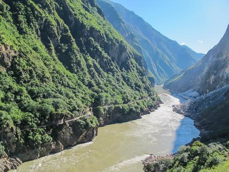 Tiger Leaping Gorge, Yangtze river, Lijiang City, Yunnan Province, China.