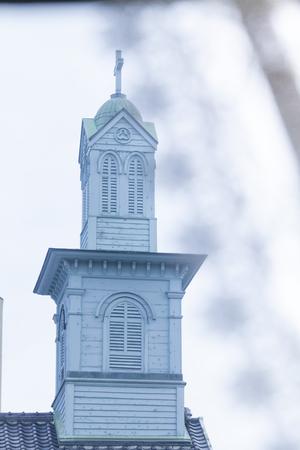 Belfry of old Dejima Seminary