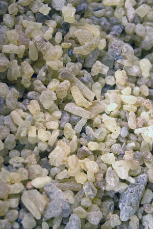 A large amount of frankincense