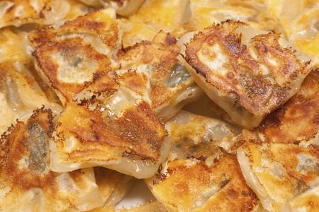 Freshly baked bite dumplings