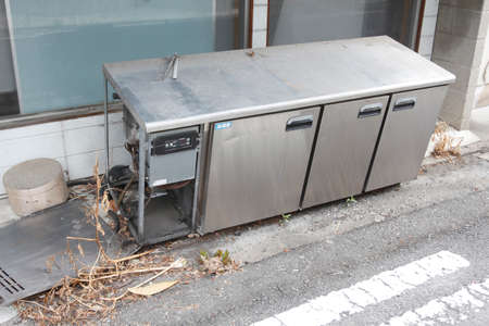 Illegal dumping of kitchen equipment