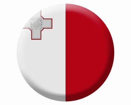 マルタ国旗 ロイヤリティフリー素材 高品質ストックフォト