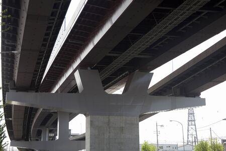 Highway bridge pier