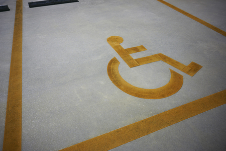 Handicapped priority parking