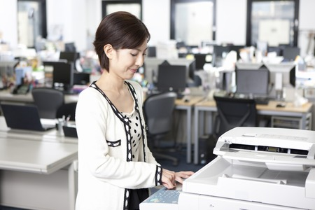 Women who use the copy machine