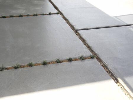 Cement wet house porch