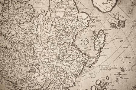 Old world map Japan