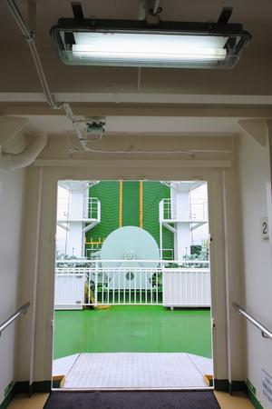 Door of cruise ships