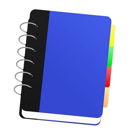 A Blue notebook