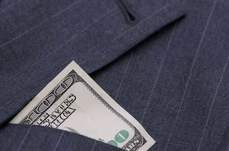 Suit with money