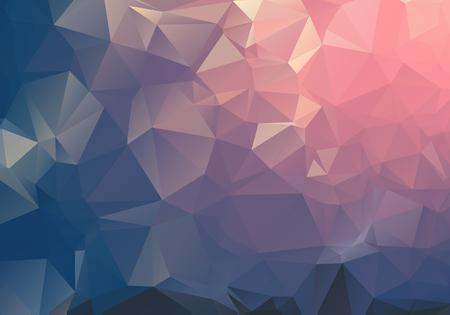 Foto de Dark Light geometric rumpled triangular low poly origami style gradient illustration graphic background. Vector polygonal design for your business. - Imagen libre de derechos