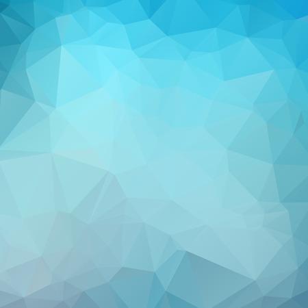 Illustration pour Dark Blue Color Polygon Background Design, Abstract Geometric Origami Style With Gradient - image libre de droit