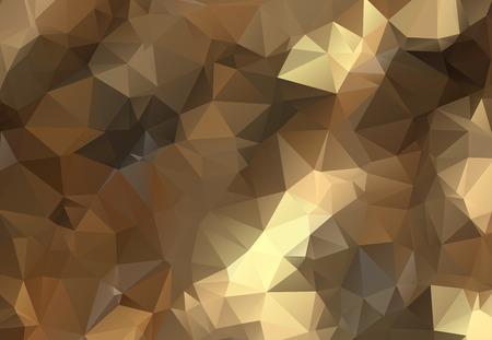 Illustration pour low poly background in pastel colors, triangle shapes - image libre de droit