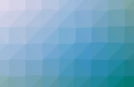 Illustration pour Blue polygonal illustration, which consist of triangles. Geometric background in Origami style with gradient. Triangular design for your business. - image libre de droit