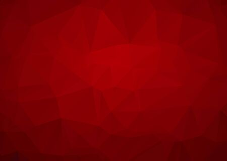 Illustration pour Abstract mosaic Red Polygonal Geometric Triangle Background, Low Poly Style. Business Design Templates modern Triangle Background. - image libre de droit