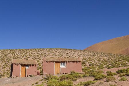 Foto de Simple house in Atacama Desert. - Imagen libre de derechos