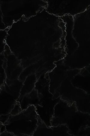 Photo pour Black marble natural pattern for background, abstract natural marble black and white - image libre de droit