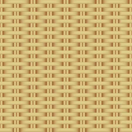 Illustration for Abstract rattan wicker seamless pattern. - Royalty Free Image