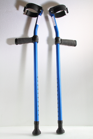 Crutches - manual walking aids