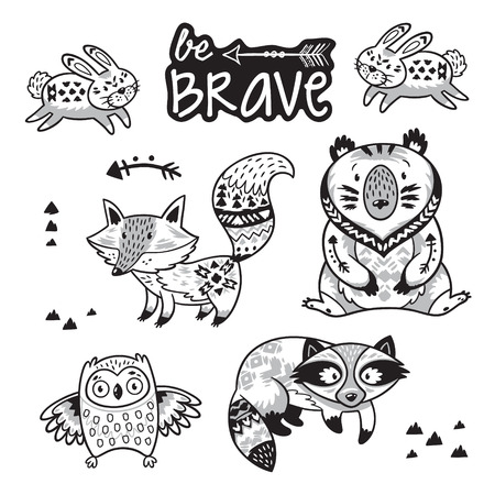 Woodland Animal Colouring Pages - Messy Little Monster | 450x450