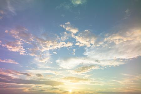 Photo pour Colorful rainbow  sky  like pastel tone - image libre de droit