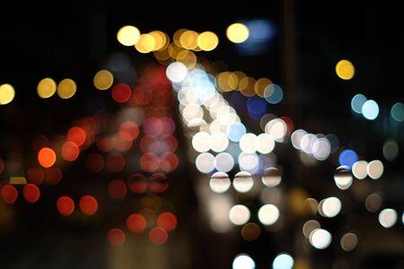 Photo pour Abstract blurred bokeh light - image libre de droit