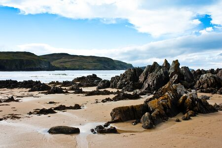 Award winning Durness spectacular beach, Sutherland, Scotland