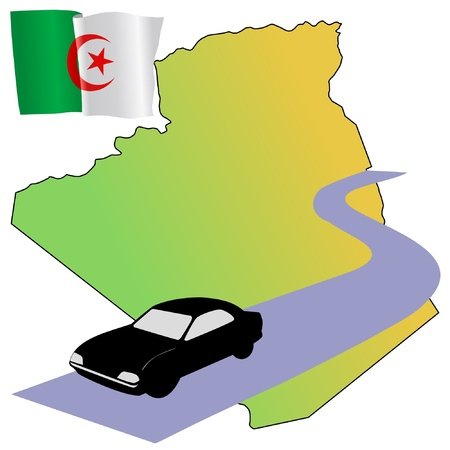 roads of Algeria